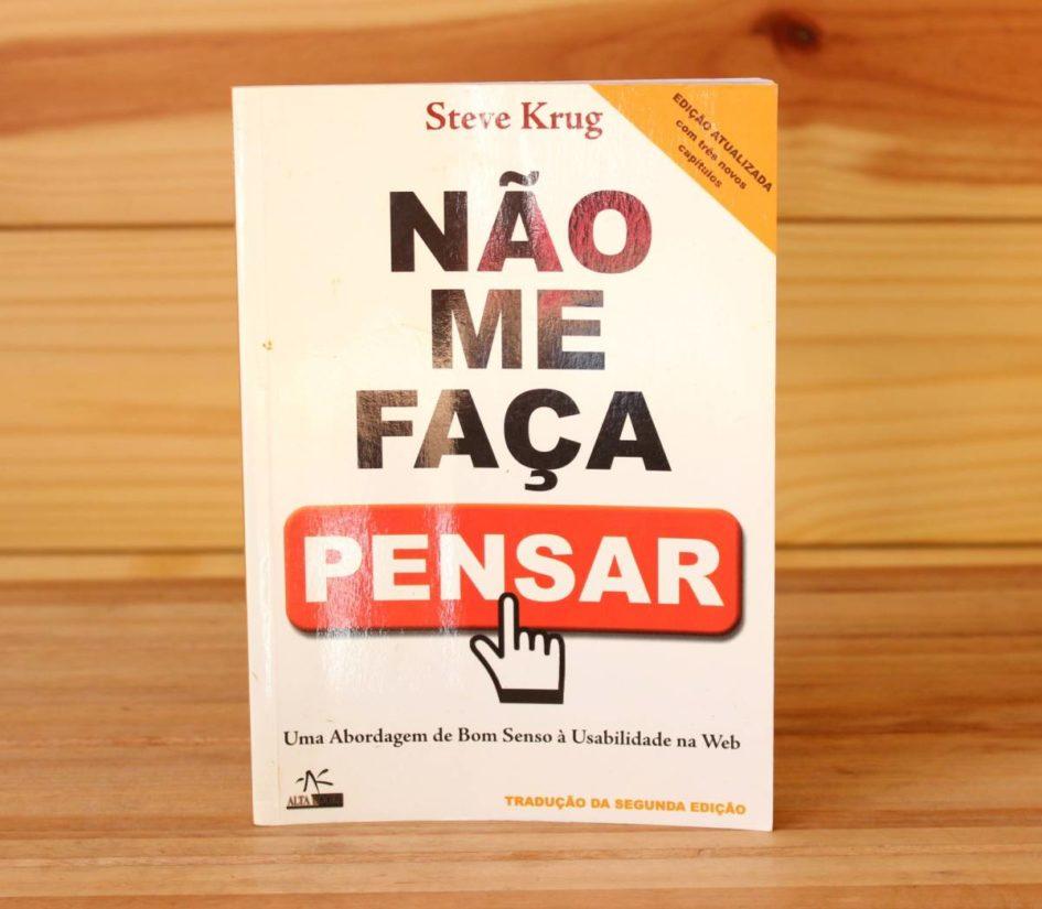 Livro Não me Faça Pensar - Steve Krug