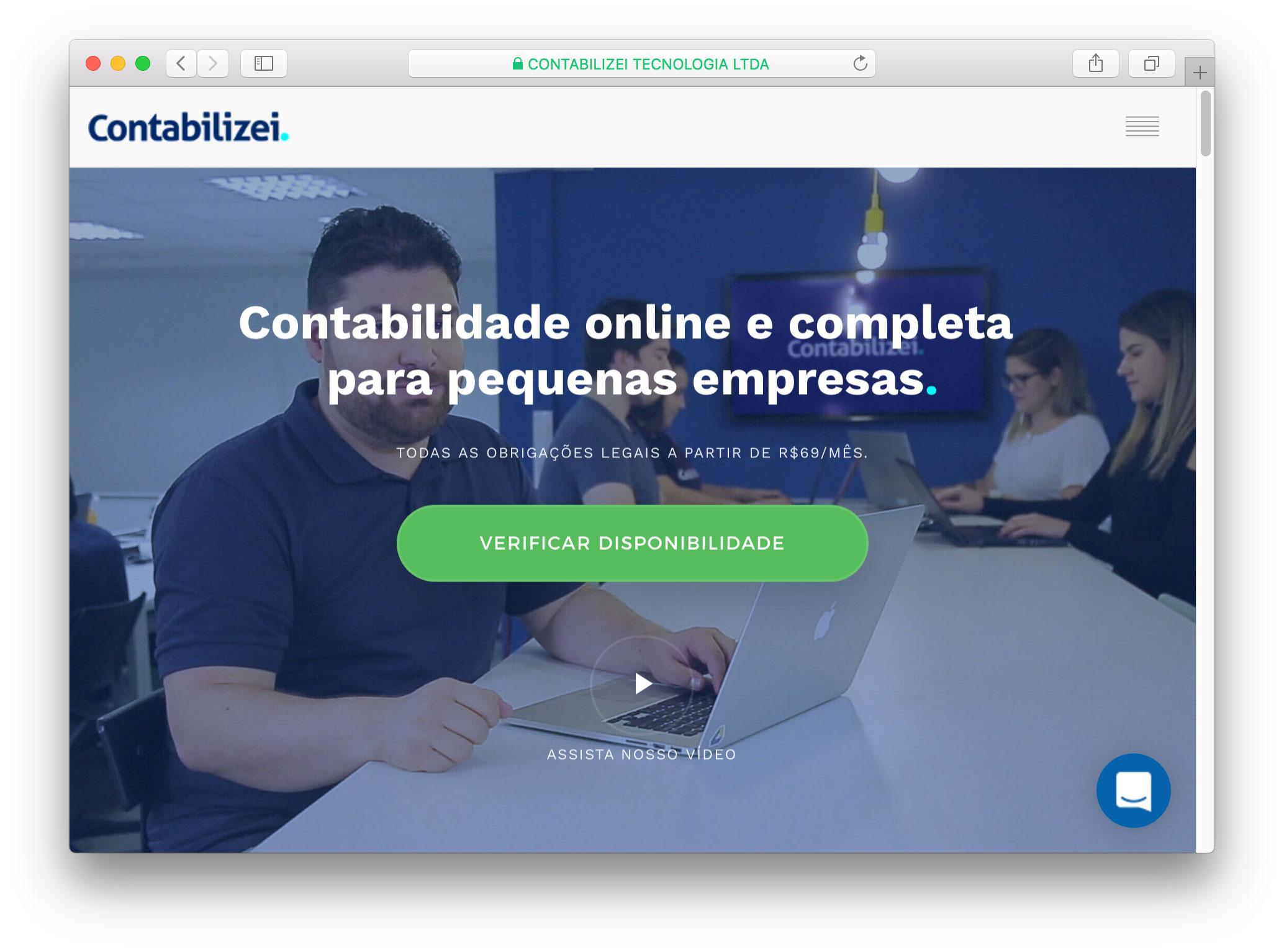 Contabilizei - Estudo de Caso UX Design