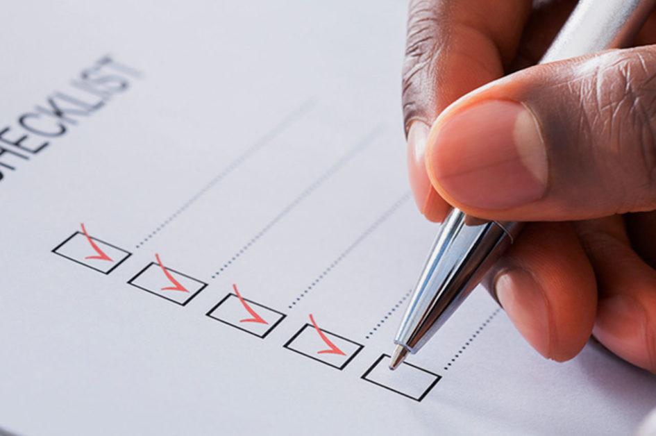 Checklist para Projetos de UX
